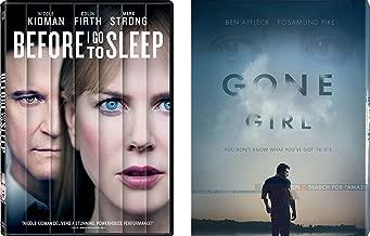 Mystery Movie 2-DVD Set Gone Girl & Before I Go To Sleep Bundle