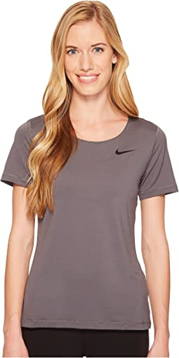 Nike - Pro Mesh Short Sleeve Top