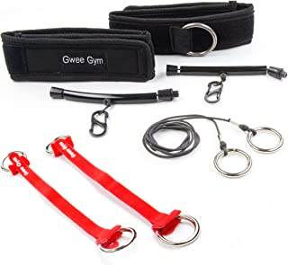Gwee Gym Resistance Bands Exercise Accessory Kit |...