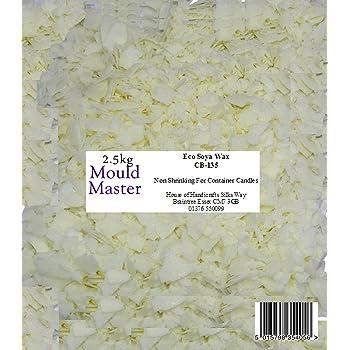 Mouldmaster Gips-Pulver Soja Beh/älter Kerze Wachs Pellets 1/kg Creme//aus wei/ß
