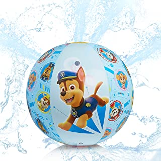 PAW PATROL Juegos de Agua, Bola de Aspersor Niños Inflable, Juguetes para Niños de La Patrulla Canina, Juegos de Agua para Jardin, Regalos Originales para Niños Niñas Edad 3+