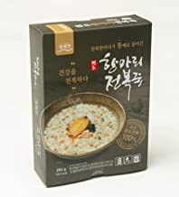 Wando Abalone Rice Porridge 전복죽 - Asian Korean Soup Packaged Single Serving Microwave Instant Healthy