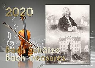 """The Composers Calendar, Johann Sebastian Bach Calendar, Music Calendar 2020: """"Bach Treasures""""– DIN-A-4 (11.7 x 8.3 inches)"""