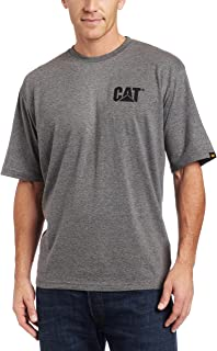 Caterpillar Men's Trademark T-Shirt (Regular and Big & Tall Sizes)