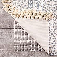 Nonslip Area Rug Gripper Pad for Hardwood Floors (White, 6 x 9 Feet)