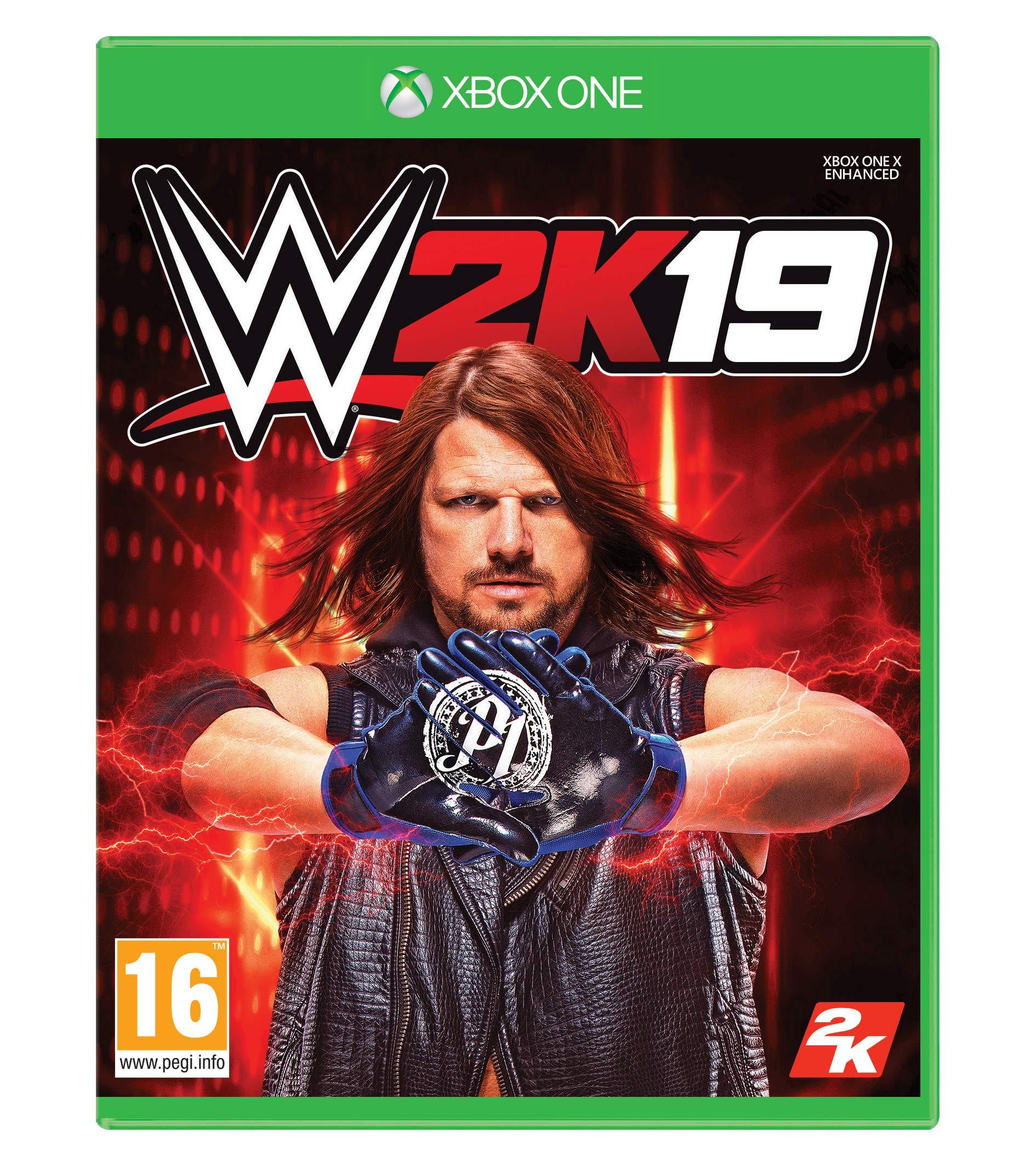 WWE 2K19 with Collectible SteelBook (Exclusive to Amazon.co.uk ...