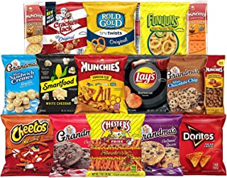 Frito-Lay Ultimate Snack Care Package, Variety Assortment of Chips, Cookies, Crackers & More, 40 Count