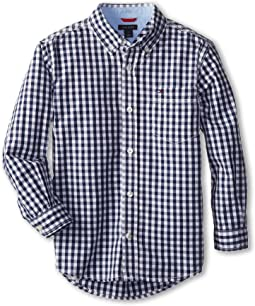 Baxter L/S Woven Shirt (Toddler/Little Kids)