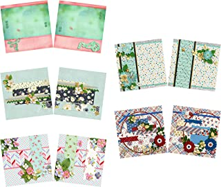 Who's That Girl NPM - Heritage - Scrapbook Set - 5 Double Page Layouts