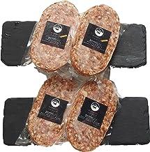 bonbori (ぼんぼり) 究極のひき肉で作る 牛100% ハンバーグステーキ プレーン&チーズ 盛合せ (200g×4個入り / プレーン200g×2 / チーズ入り200g×2) ギフト