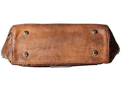 w Compartment West Distressed Annie's Zip Brown Tan American Secret Tote Top Secret Charcoal Y8wvCTq