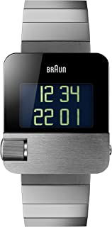 Braun 博朗 男式 PRESTIGE 手表带数字显示