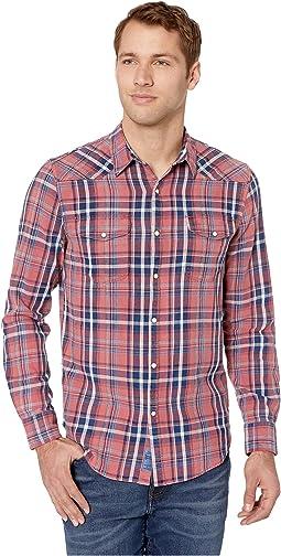 Indigo Santa Fe Western Shirt