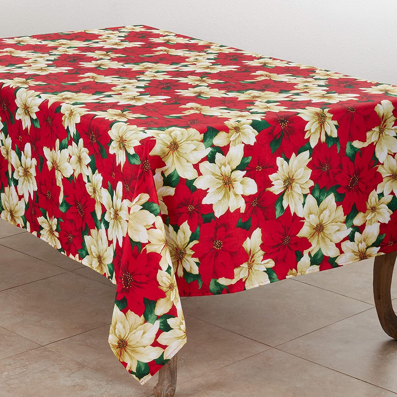 SARO 祝開店大放出セール開催中 LIFESTYLE 引き出物 Christmas Star Print Poinsettia Tablec Collection