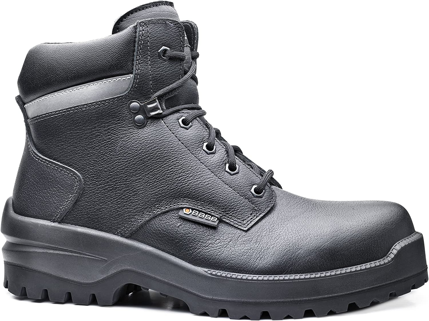 Base BO727 Rhino S3 C1 SRC Mens Platinum Nonslip Laced Safety Boot