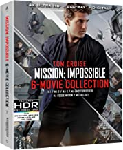 Mission: Impossible 6 Movie Collection (4K Uhd/Bd Collection)