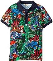 Kenzo Kids - Printed Polo Shirt (Little Kids)