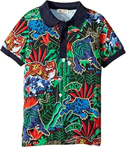 Printed Polo Shirt (Little Kids)