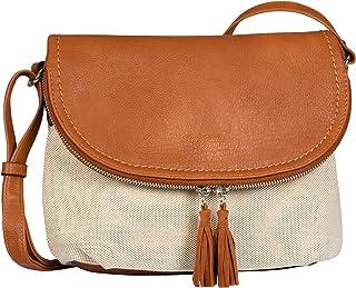 TOM TAILOR Lari Summer Flap bag M no zip,