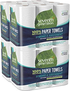 green heritage paper towels