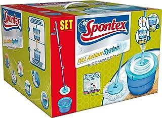 Spontex 72110022 - Fregona giratoria Full Action System, diseño compacto