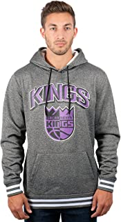 Ultra Game NBA Men's Focused Pullover Fleece Hoodie Sweatshirt