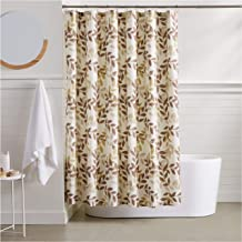 AmazonBasics Foliage Shower Curtain - 72 Inch