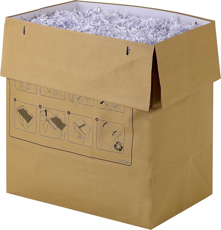 Volume 34L Rexel Sacs Recyclables pour Destructeurs 2105901 Paquet de 50 Pour Destructeurs Rexel Mercury 34L