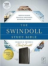 The Swindoll Study Bible NLT (LeatherLike, Black)