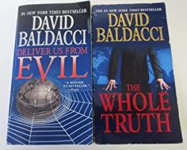 David Baldacci Shaw Series 2 Book Set Deliver Us From Evil, The Whole Truth