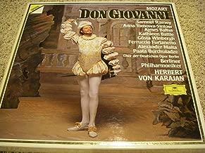 Mozart Don Giovanni Karajan [3 Record Box Set][Import]