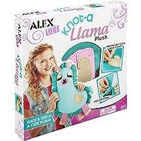 ALEX DIY 602100-1 Knot-a Llama Plush (Purple)