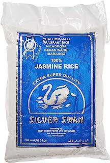 Silver Swan Fragrant Milagrosa Beras Wangi Mabango Jasmine Rice, 5 kg