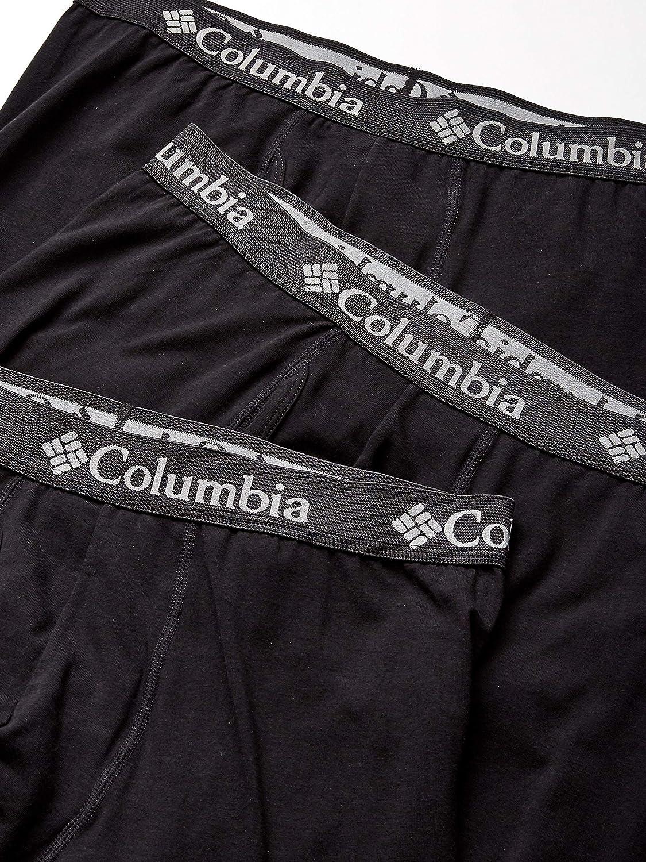 Columbia Men's Cotton Stretch 3 PK Boxer Brief