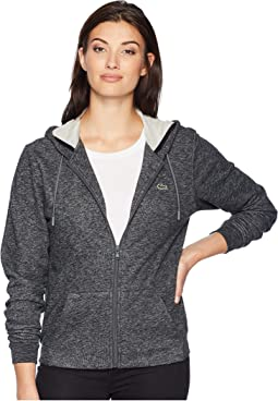 Long Sleeve Hooded Fleece Pocket Sweatshirt