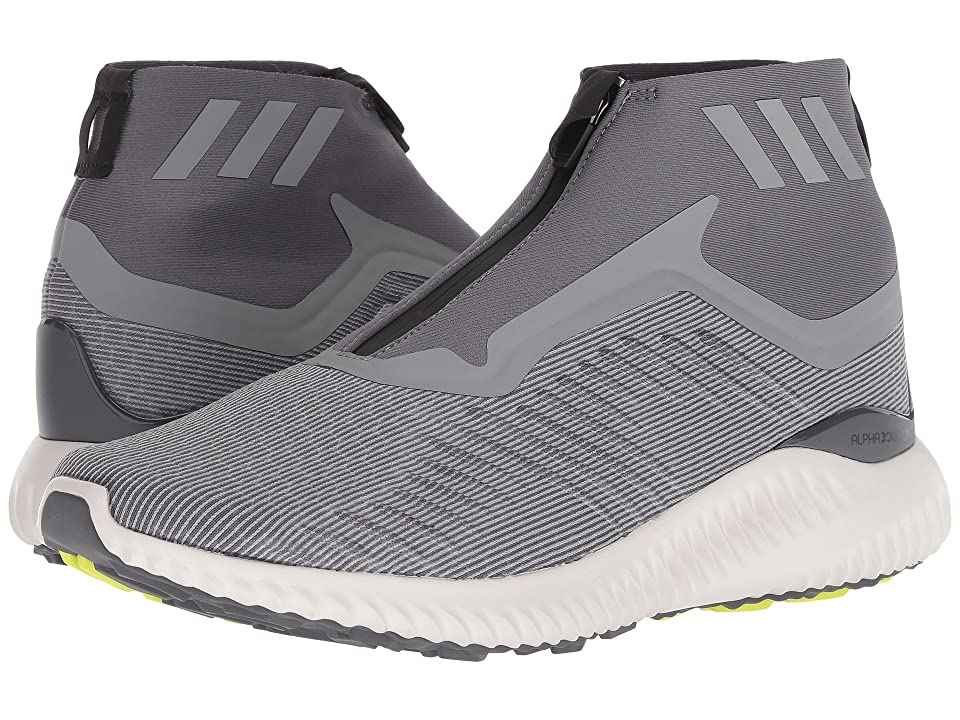 adidas Alphabounce Zip (Grey/Grey/Grey) Men