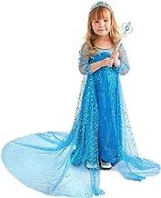 Butterfly Craze Elsa Costume for Girls, Princess Dress, Frozen Inspired, Glamour & Coziness