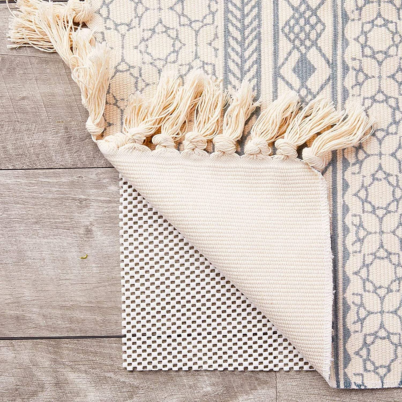 Nonslip Area Rug Gripper Pad for Hardwood White 5 Floors OFFer 3 F x El Paso Mall