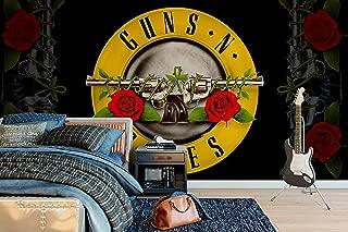 Officially Licensed Guns N' Roses - Bullet - Wall Mural Wallpaper 4m (W) x 2.5m (H)