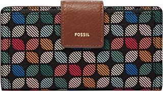 Fossil Women's Wallet, 6.75''L x 0.75''W x 3.5''H, Multicoloured