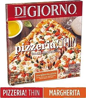DIGIORNO Pizzeria! Thin Hand-Tossed Style Thin Crust Margherita Frozen Pizza, 18 oz.   Made with Mozzarella Cheese