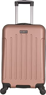 """Heritage Travelware Lincoln Park 20"""" Abs 4-Wheel Carry on Luggage, Rose Gold"""