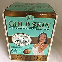 Gold Skin Clarifying Body Cream With Snail Slime (Hydroquinone Free) 140 ml, 4.73 fl.oz.