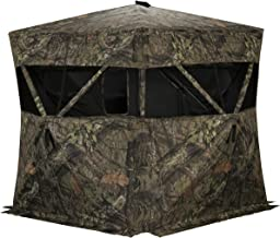 Rhino Blinds R200-MOC 3 Person Hunting Ground Blind, Mossy Oak Breakup Country