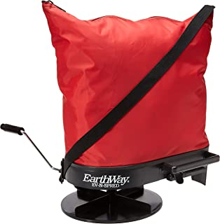 Earthway 2750 Hand-Operated Bag Spreader/Seeder,Red,25 Pounds