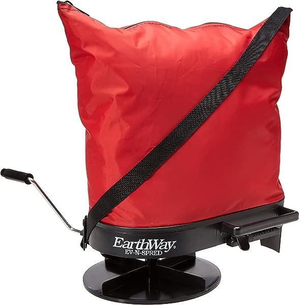 Earthway 2750 手动尼龙袋式播种机适合丘陵和潮湿地形 25 镑容量美国制造