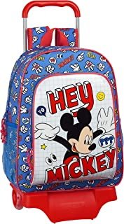 Mochila Escolar con Carro 905 de Mickey Clubhouse, 330x140x420mm, Multicolor (Mickey Things)
