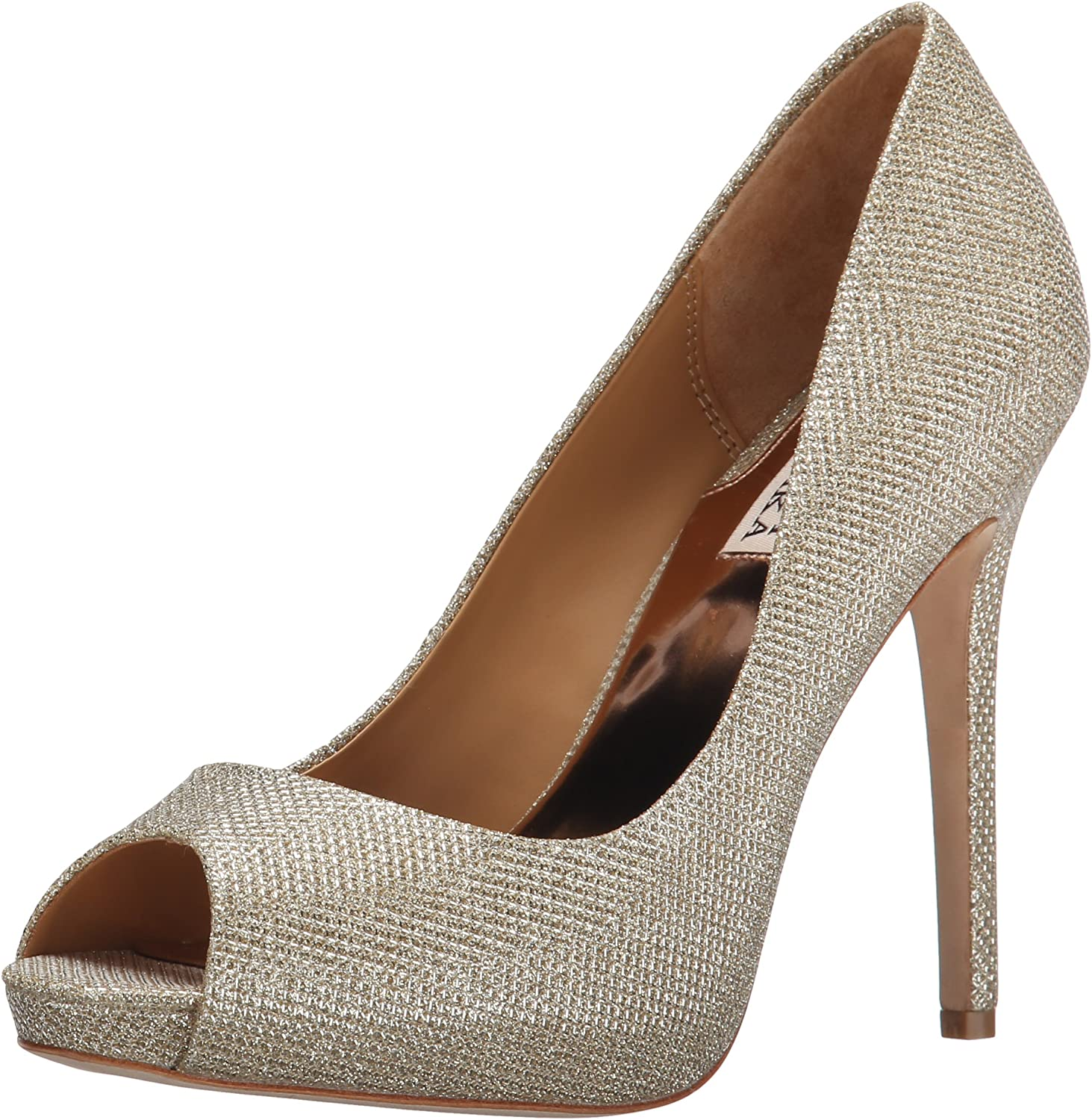 Badgley Mischka Women's Pondepink Platform Pump