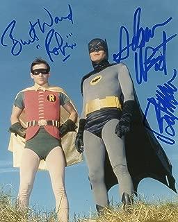 Batman & Robin Adam West Burt Ward reprint signed 8x10 photo #5 RP