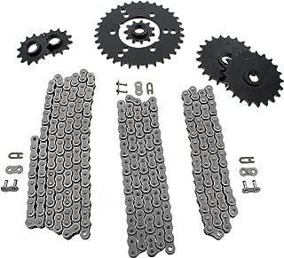 Polaris Xplorer 400L 4x4 Non O Ring Chains & Complete Sprocket Set